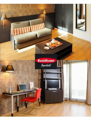 r sid 39 home metz appart 39 h tel trois toiles. Black Bedroom Furniture Sets. Home Design Ideas